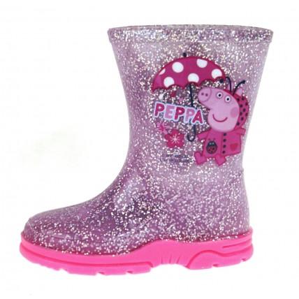Peppa Pig Wellington Boots - Ladybug