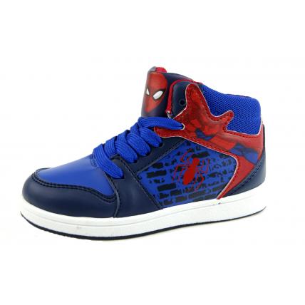 Marvel Spiderman Hi Top Ankle Boots - Spider