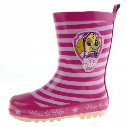 Paw Patrol Wellington Boots - Skye Best Pup Ever