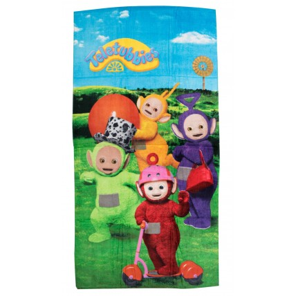 Teletubbies Beach Towel  4 Character