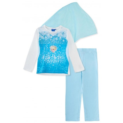 Disney Frozen Dress Up Pyjamas With Cape
