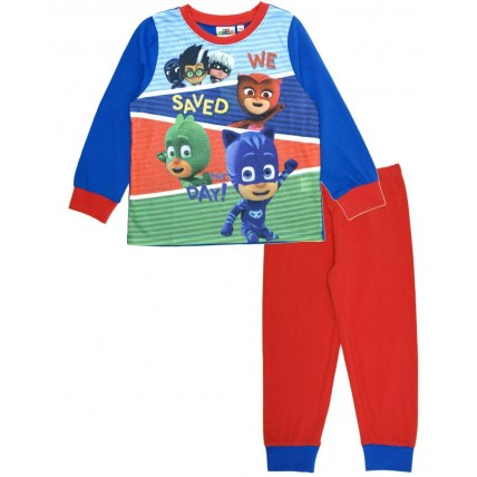 PJ Masks Long Pyjamas - Blue