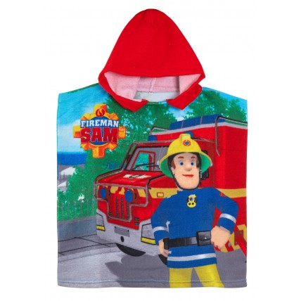 Fireman Sam Hooded Towel