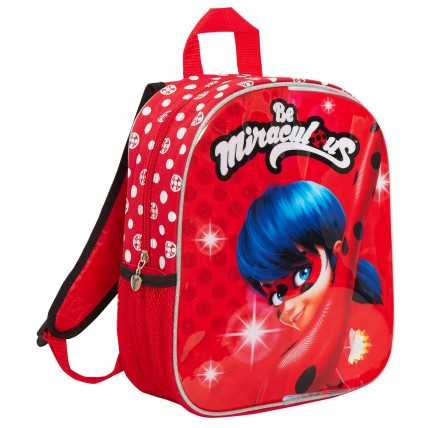Girls Miraculous Ladybug Reversible Backpack