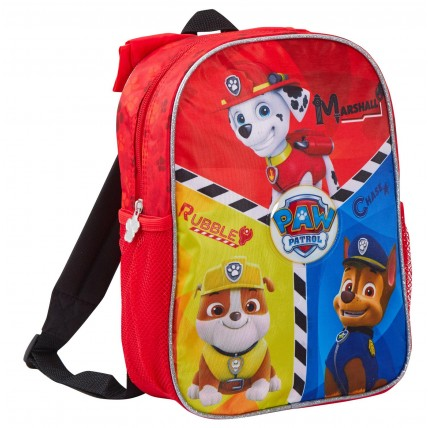 Paw Patrol Backpack With Hood - Marshall