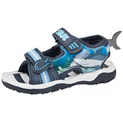 Boys Shark Sandals - 3D Fin