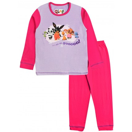 Bing Bunny Long Pyjamas - Let's Go, Go, Gooooo!