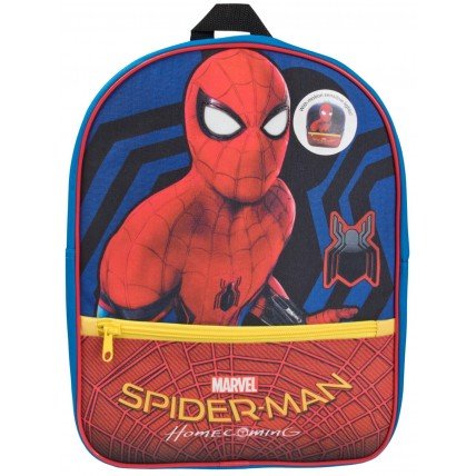Boys Marvel Spiderman Light Up Backpack