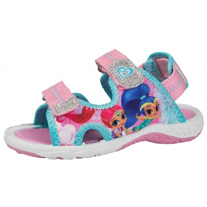 Shimmer and Shine Sports Sandals - Genie Glitter