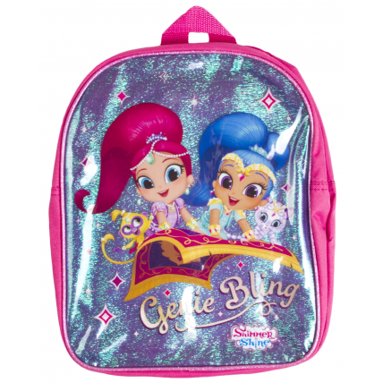 Girls Shimmer And Shine Genie Bling Backpack
