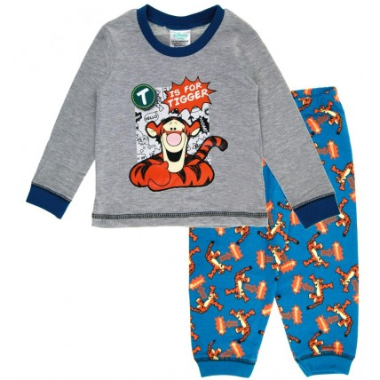 Baby Boys Winnie The Pooh Pyjamas - T is for Tigger