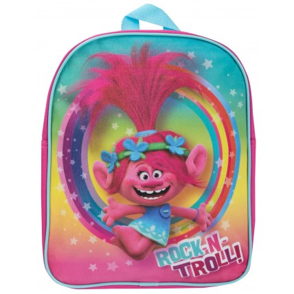 Girls Trolls Glitter Backpack