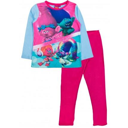 Trolls Long Pyjamas - True Colours