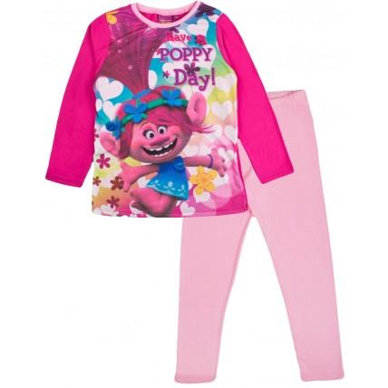 Trolls Long Pyjamas - Have A Poppy Day!
