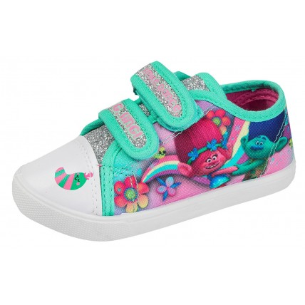 Trolls Canvas Pumps  Poppy + Branch Glitter