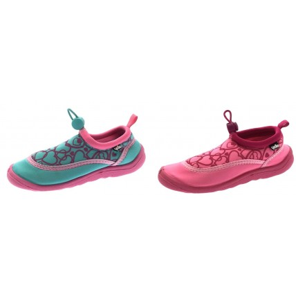Yello Kids Aqua Shoes - Hearts Toggle Fastening