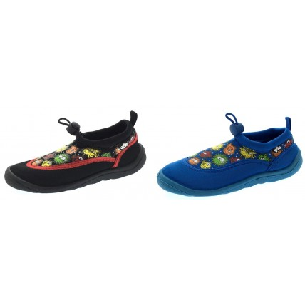 Yello Kids Aqua Shoes - Pufferfish Toggle Fastening