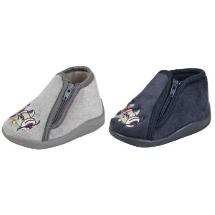 Boys Aeroplane Slippers