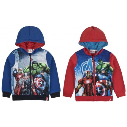 Marvel Avengers Printed Design Hooded Jacket