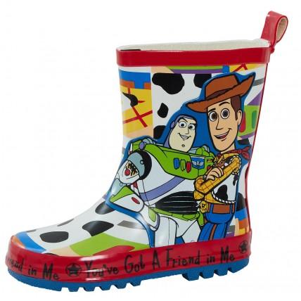 Disney Boys Toy Story Wellington Boots  3D Buzz and Woody