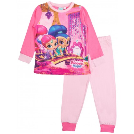 Shimmer & Shine Long Pyjamas - Pink