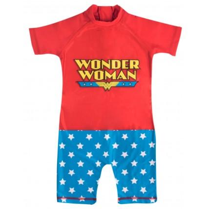 Girls Classic Wonder Woman Sun Suit
