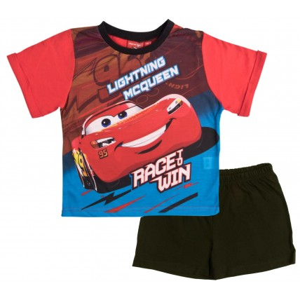 Disney Cars Short Pyjamas - Race To Win