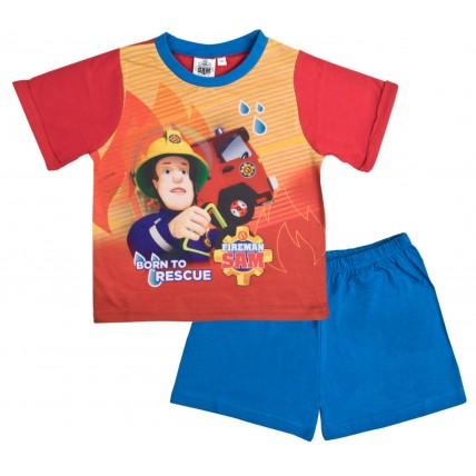Fireman Sam Short Pyjamas - Born To Rescue