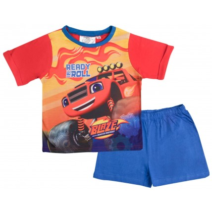 Blaze And The Monster Machines Short Pyjamas - Ready To Roll