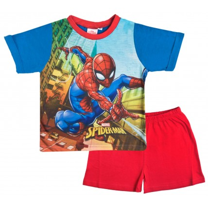 Spiderman Pyjama Set - City Scene
