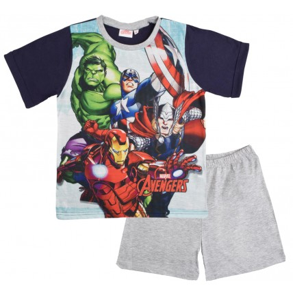 Marvel Avengers Short Pyjamas - 4 Character