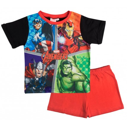 Marvel Avengers Short Pyjamas - Square Characters