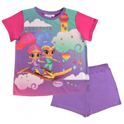 Shimmer & Shine Short Pyjamas - Flying Carpet