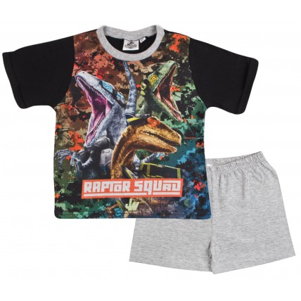 Jurassic World Boys Short Pyjamas - Raptor Squad