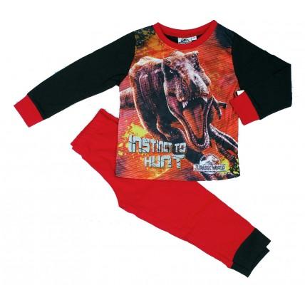 Jurassic World Boys Long Pyjamas