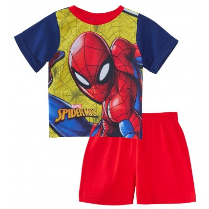 Spiderman Short Pyjamas