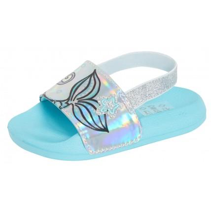 Girls Mermaid Sliders