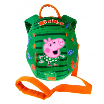 George Pig Boys Backpack With Reins