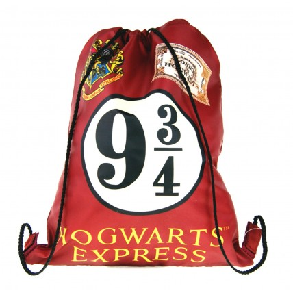 Harry Potter Drawstring Bag - 9 3/4