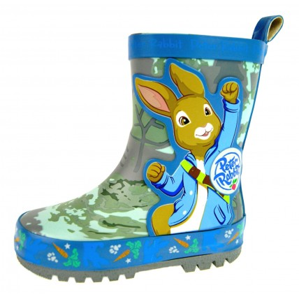Beatrix Potter Boys Rubber Wellington Boots  Peter Rabbit