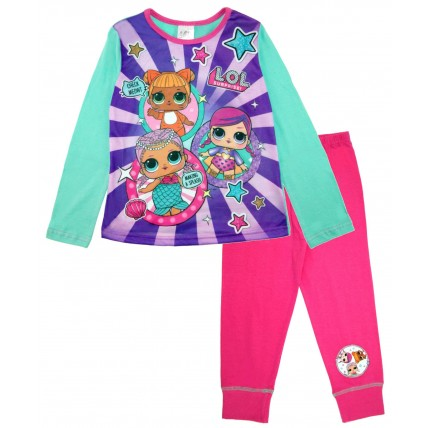 LOL Surprise Dolls Long Pyjama Set - Multi