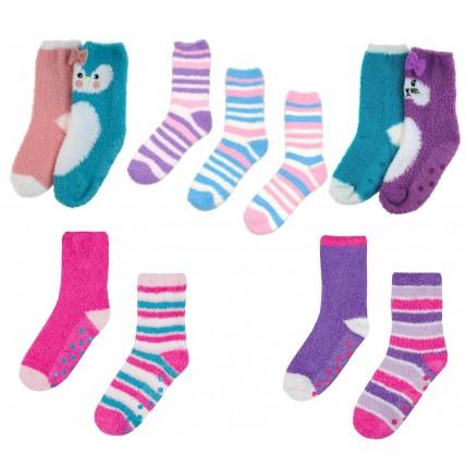Girls Cosy Socks - Multipack