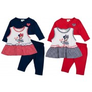 Disney Minnie Mouse Baby Girls Outfit - Summer Time