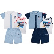 Disney Mickey Mouse Baby Boys Outfit -Sailing the Sea