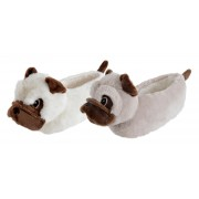 Kids Character Slippers - 3D Pug Dog