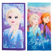 Girls Disney Frozen 2 Beach Towel Kids Elsa Anna Pool Holiday Swimming Wrap