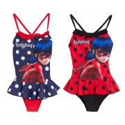 Girls Miraculous Ladybug One Piece Swimming Costume Kids Swimsuit Holiday Size
