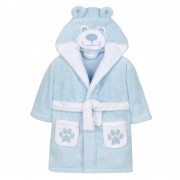 Baby 3D Fleece Dressing Gown - Teddy Bear
