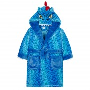 Boys Dressing Gown - 3D Dino