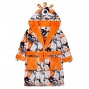 Boys Dressing Gown - 3D Monster